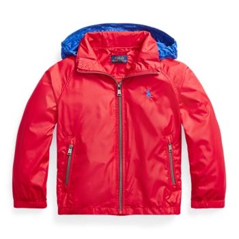 Водонепроницаемая складывающаяся куртка с капюшоном Ralph Lauren