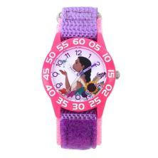 Детские розовые часы для учителей времени Disney Princess Pochahontas & Flit Licensed Character