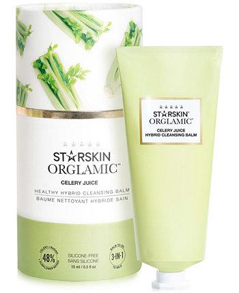Здоровый гибридный очищающий бальзам Orglamic Celery Juice Healthy Hybrid, 0,5 унции. STARSKIN