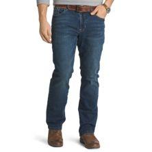 Мужские джинсы свободного кроя комфортной посадки IZOD IZOD