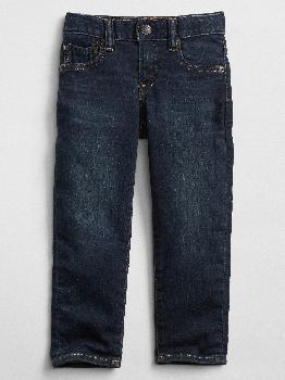 Зауженные джинсы для малышей с эластичной резинкой Gap Factory
