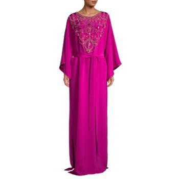 Embroidered Caftan Marchesa