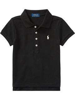 Рубашка-поло из сетчатой ткани с коротким рукавом (для малышей) Ralph Lauren