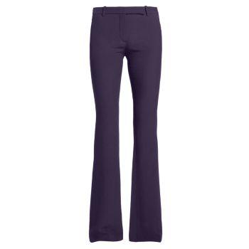 Узкие брюки Bootcut Alexander McQueen