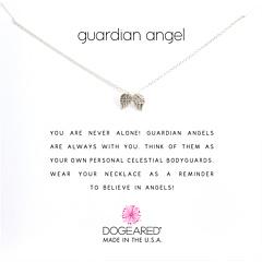 Ожерелье-напоминание ангела-хранителя Dogeared