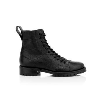 Кожаные армейские ботинки Cruz Jimmy Choo