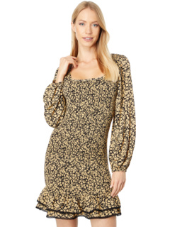 Pick Me Golden Hour Mini Dress LOST + WANDER