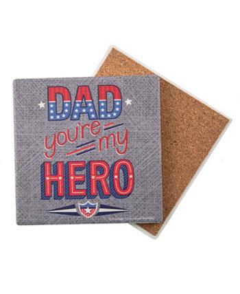 Dad, You're My Hero Coaster THIRSTYSTONE