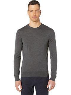 Тонкий свитер с круглым вырезом Eleventy