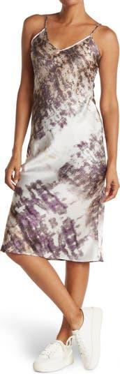 Платье-комбинация с принтом Cloth By Design