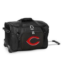 Cincinnati Reds 22-Inch Wheeled Duffel Bag MLB