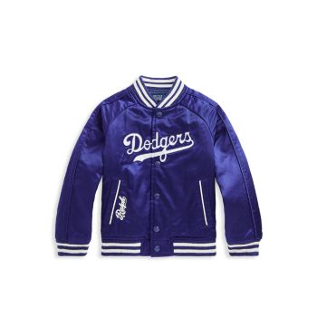 Little Boy's & amp; Boy's Los Angeles Dodgers & # 8482; бейсбольная куртка из коллаборации с Ralph Lauren Ralph Lauren