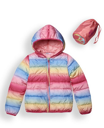 Big Girls Packable Pals Jacket with Matching Bag Set Epic Threads