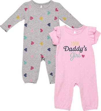 Daddy's Girl Jumpsuit Set Baby Starters