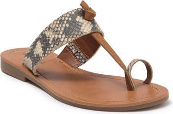 Сандалии на плоской подошве с петлей на носке Indigo Rd