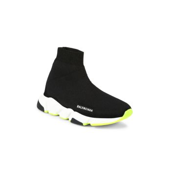 Little Kid's & amp; Детские кроссовки Speed Sock Balenciaga