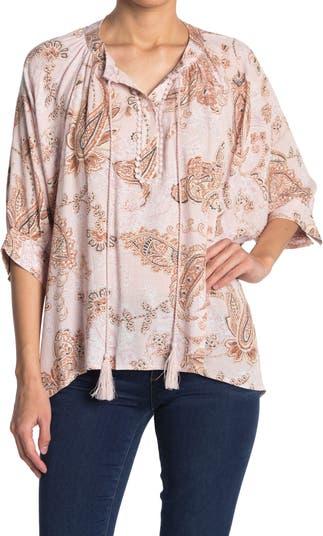 Блуза с кисточками и крючком в виде органзы Everleigh