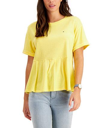 Peplum T-Shirt Tommy Hilfiger