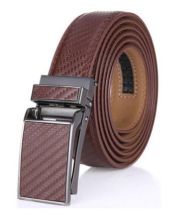 Мужской кожаный ремень Linxx Designer с трещоткой Mio Marino