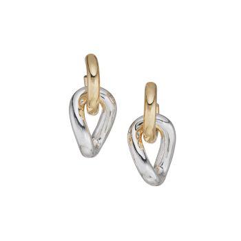 Élyseés Two-Tone Drop Earrings DANNIJO