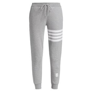 Классические спортивные брюки Engineered с 4 полосками THOM BROWNE