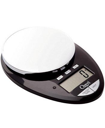 Кухонные весы Pro II и кухонный таймер обратного отсчета, со съемным стеклом Ozeri