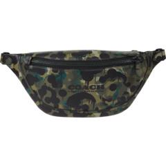 Поясная сумка League с камуфляжным принтом COACH