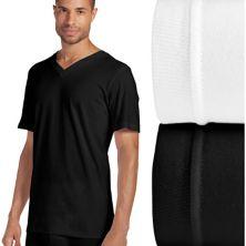 Классические футболки Big & Tall Jockey® с V-образным вырезом, 2 пары Jockey