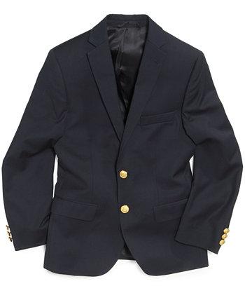 Однотонный пиджак для маленьких мальчиков Ralph Lauren