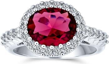 Коктейльное кольцо CZ Bling Jewelry