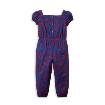 Baby's, Little Girl's & Girl's Small Floral Jumpsuit Janie and Jack