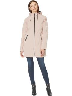 Мягкая оболочка 3/4 длины Функциональное пальто от дождя Ilse Jacobsen