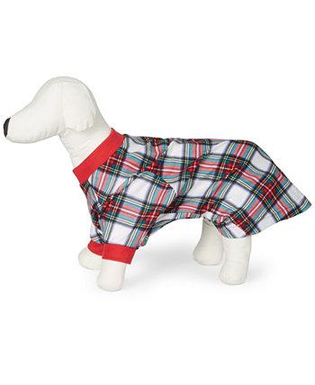 Плед Matching Pet Stewart, созданный для Macy's Family Pajamas