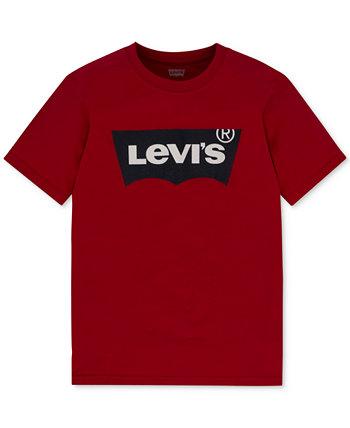 Хлопковая футболка с графическим принтом для мальчиков Levis® для малышей Levi's®