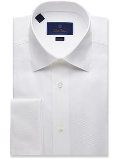 Рубашка с отделкой по фигуре Domb Weave David Donahue
