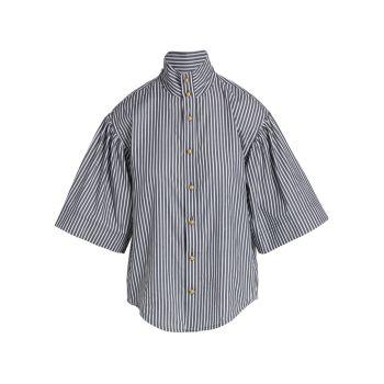 Рубашка Kenna в бенгальскую полоску Tanya Taylor