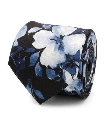 Мужской шелковый галстук с цветочным рисунком и росписью Ox & Bull Trading Co.