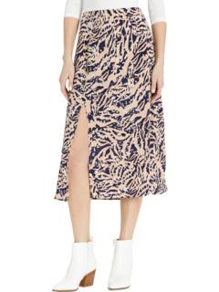 Бисквитная вихревая скользящая юбка MINKPINK