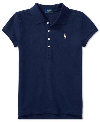 Рубашка-поло для маленьких девочек Ralph Lauren
