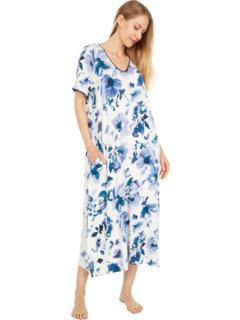 Одежда для сна Макси-рубашка из модала и спандекса Donna Karan