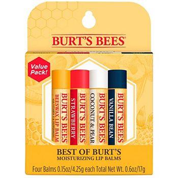 Бальзам для губ Burt's Bees 4-Pack Best Of Burt's Lip Balm Set BURT'S BEES