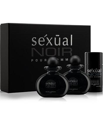 Мужская Сексуальная Noir Pour Homme 3-Pc. Подарочный набор, созданный для Macy's Michel Germain