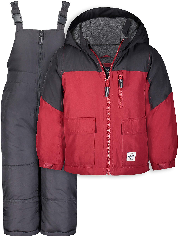 Лыжная куртка и зимний комбинезон Snowbib OshKosh B'gosh