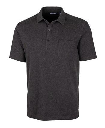 Мужская футболка-поло с большим и высоким достоинством Cutter & Buck