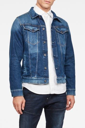 Тонкая джинсовая куртка G-STAR RAW