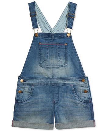Короткие джинсовые шорты Little Girls из эластичного денима Tommy Hilfiger