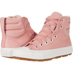 Chuck Taylor® All Star® Berkshire Boot Hi - Seasonal Leather Boot (Big Kid) Converse Kids