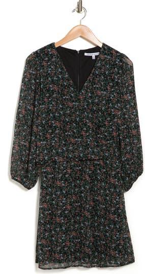 Платье-кроссовер с V-образным вырезом и цветочным принтом Collective Concepts