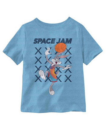 Little Boys Space Jam Short Sleeve T-shirt Hybrid
