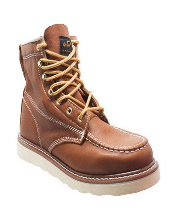 Мужские рабочие ботинки с Moc Toe с 6-дюймовым носком AdTec